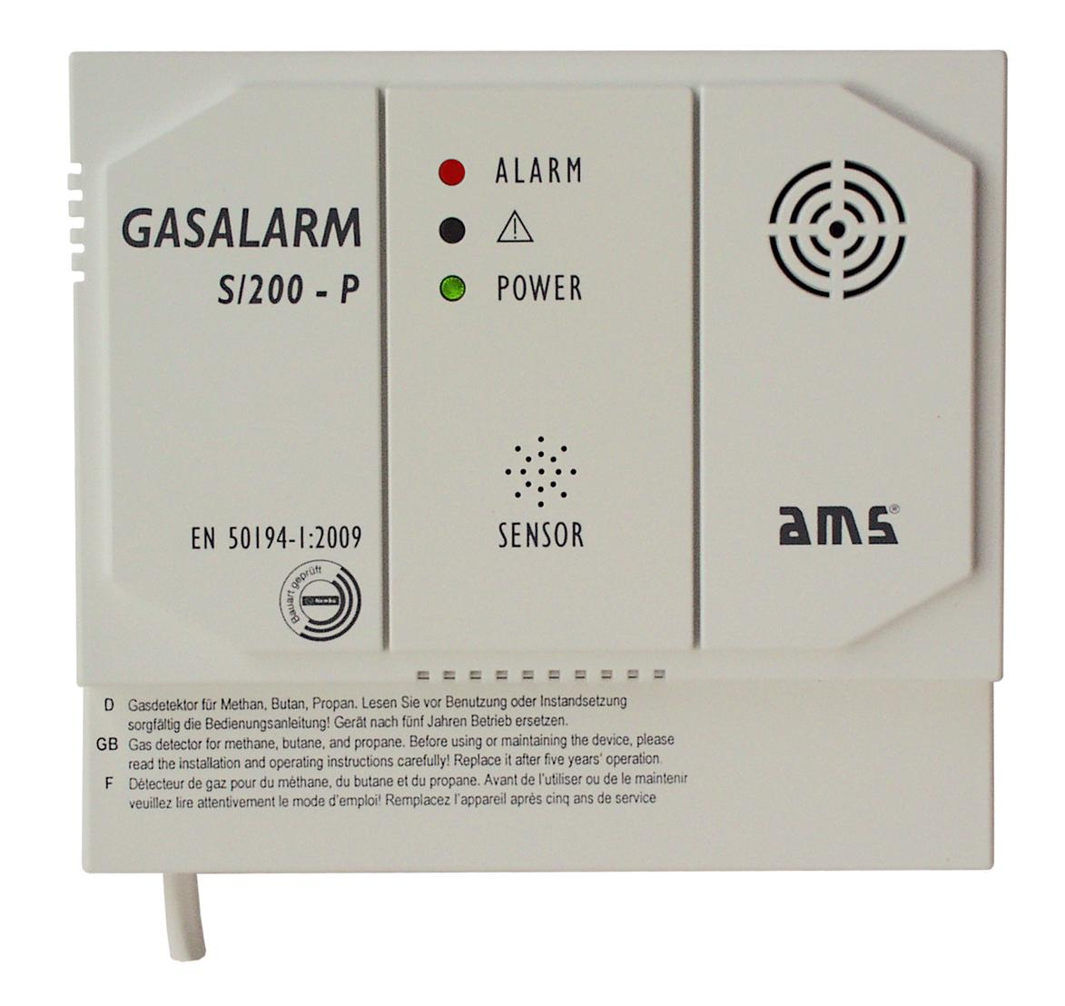 GASALARM S200-P - Made in Germany - AMS Messtechnik