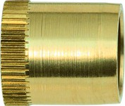 Verstärkungshülse / Stützhülse  Messing 8/10 VPE: 4 Stück