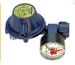 Marineregler EN61 90° PS 16 bar 0,8 kg/h 30 mbar PRV