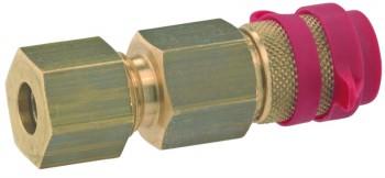 Schnellverschlusskupplung Typ 02 449 - 5 bar, manipulationssiche