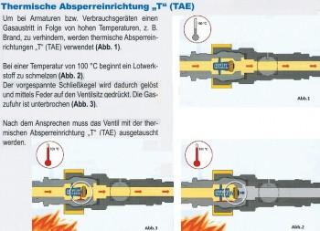 Niederdruckregler EN61-DS , 1,5 kg/h ÜDS , Haushaltsregler SBS