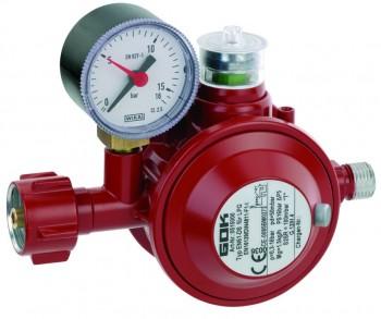 Niederdruckregler EN61-DS , 1,5 kg/h ÜDS , Haushaltsregler