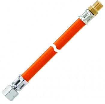 MD-Schlauchleitung Kunststoff PS 10 bar  1/4 LH-ÜMx1/4 LH-KN x 3000mm