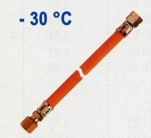Mitteldruckschlauch G 3/8 LH-ÜM x RVS 12 x 300mm