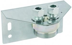 Halterung für Balgengaszähler Einrohr PS 1 bar RVS 15