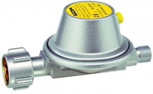 Caravanregler EN61 Leistungsstufe 1 , 0,8 kg/h 30 mbar PS 16 bar