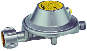 Caravanregler EN71 Leistungsstufe 2 , 1,2 kg/h 30 mbar PS 16 bar