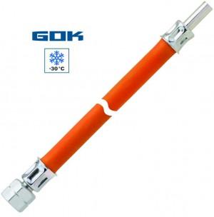 Mitteldruckschlauch G 1/4 LH-ÜM x RST 8