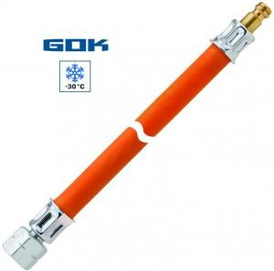Mitteldruckschlauch G 1/4 LH-ÜM x STN