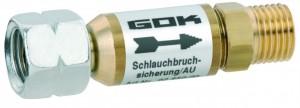 Schlauchbruchsicherung Niederdruck automatisch 1,5 kg/h - PS 16