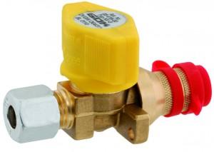Schnellschluss- Kupplungsventil PS 5 bar KV8 Durchgangsventil