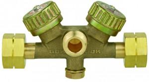 Doppelabsperrblock PS 16 bar Regulierventil