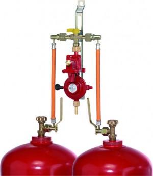 Zweiflaschenanlage PS 16 bar 4 kg/h 50 mbar F2