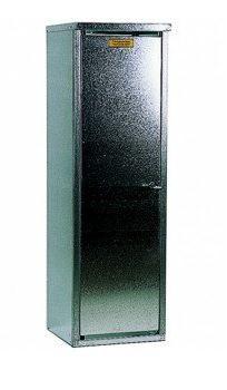 1- Flaschenschrank für 33 kg Flasche (ohne Rückwand)