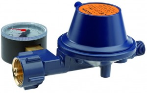 Marineregler EN61 PS 16 bar 0,8 kg/h PRV Manometer