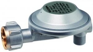 Niederdruckregler EN61   50 mbar 1,5 kg/h Abgang 90°