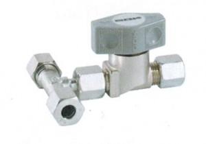 Schnellschluss- Abzweigventil  PS 16 bar -  AV 8 mm