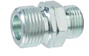 Übergangsstück - Großflaschenanschluss AG-GF x RVS 12