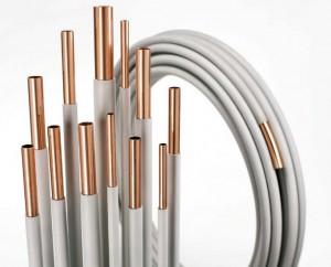 WICU - Kupferrohr 8 x 1 mm besch. Länge 1,0m