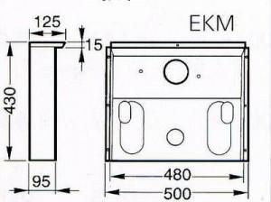 Truma - Einbaukasten (Titan) für Trumatic S 2200