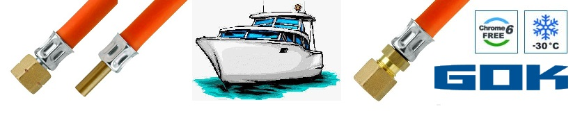 Gasschläuche Marine